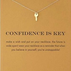 NEW Confidence is Key Gift Necklace Inspiration